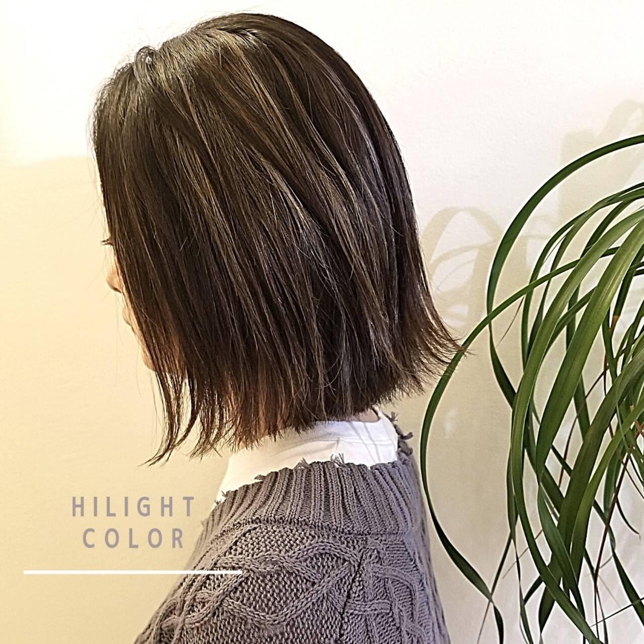 大人ハイライト ブリーチ必須 モード 外国人風カラーヘアスタイルや髪型の写真・画像