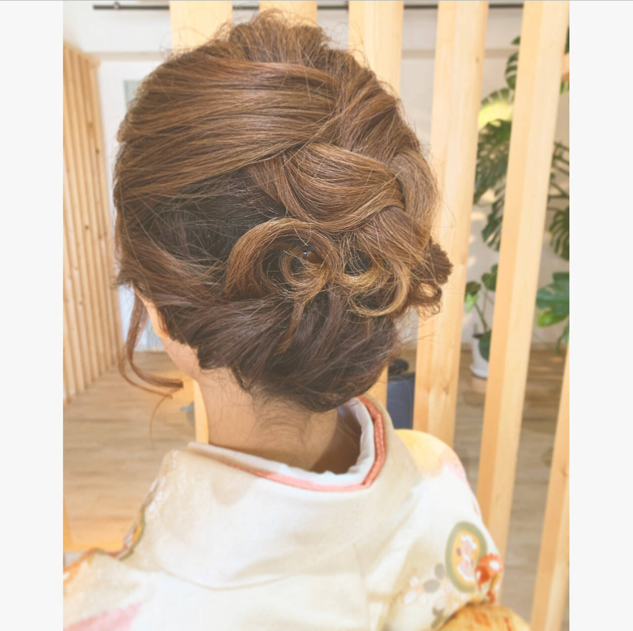 和装髪型 エレガント ヘアアレンジ 和装ヘアヘアスタイルや髪型の写真・画像