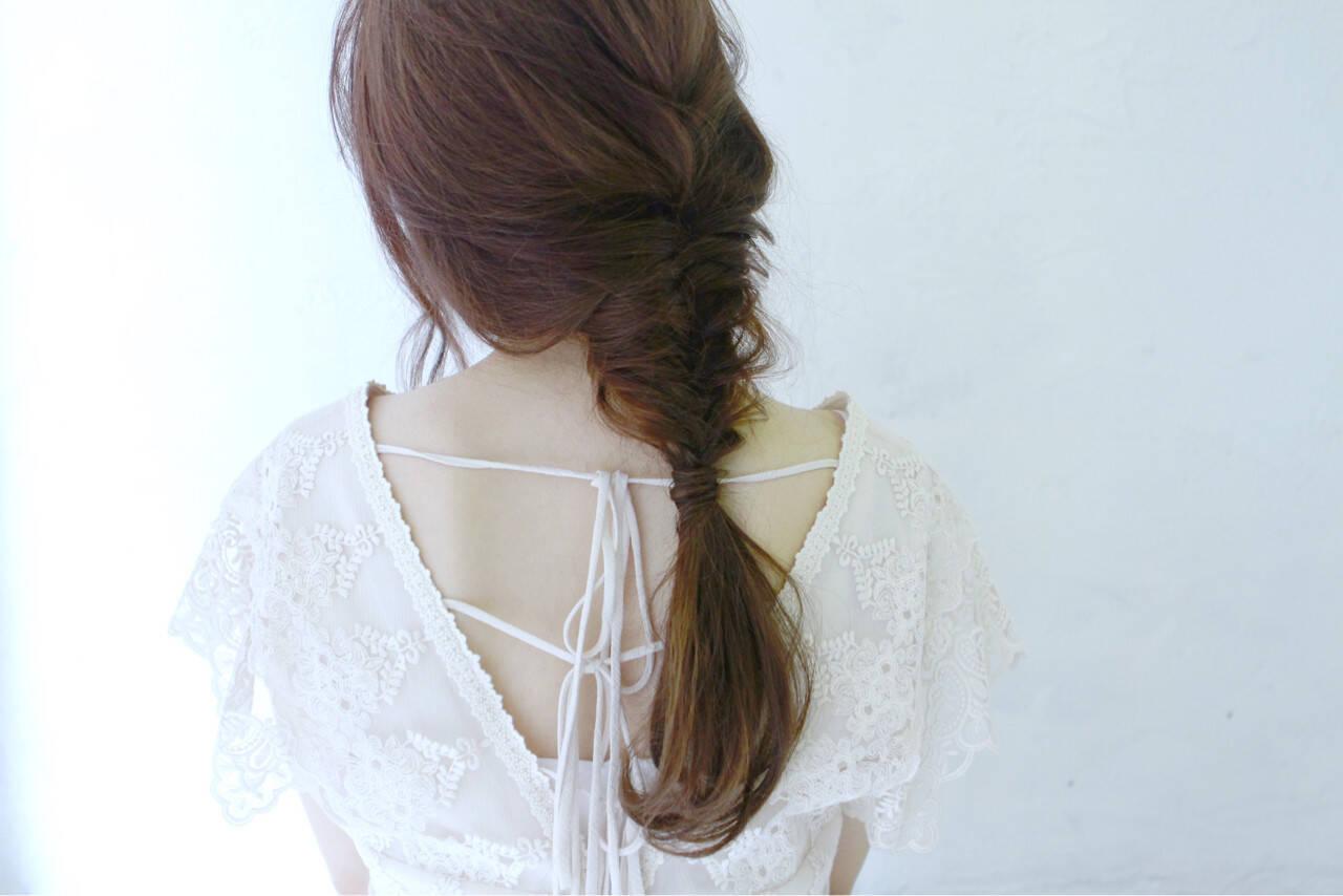 ヘアアレンジ ロング ルーズ アンティークヘアスタイルや髪型の写真・画像