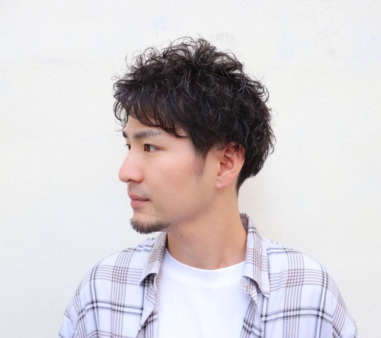 ショート メンズヘア メンズショート 福岡市ヘアスタイルや髪型の写真・画像