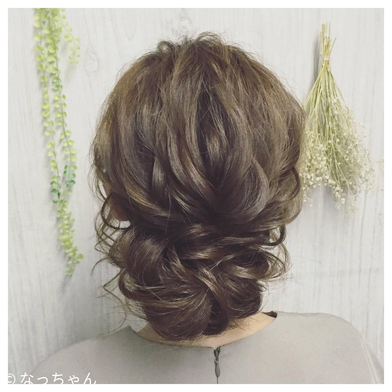 パーティ ロング お呼ばれ 結婚式ヘアスタイルや髪型の写真・画像