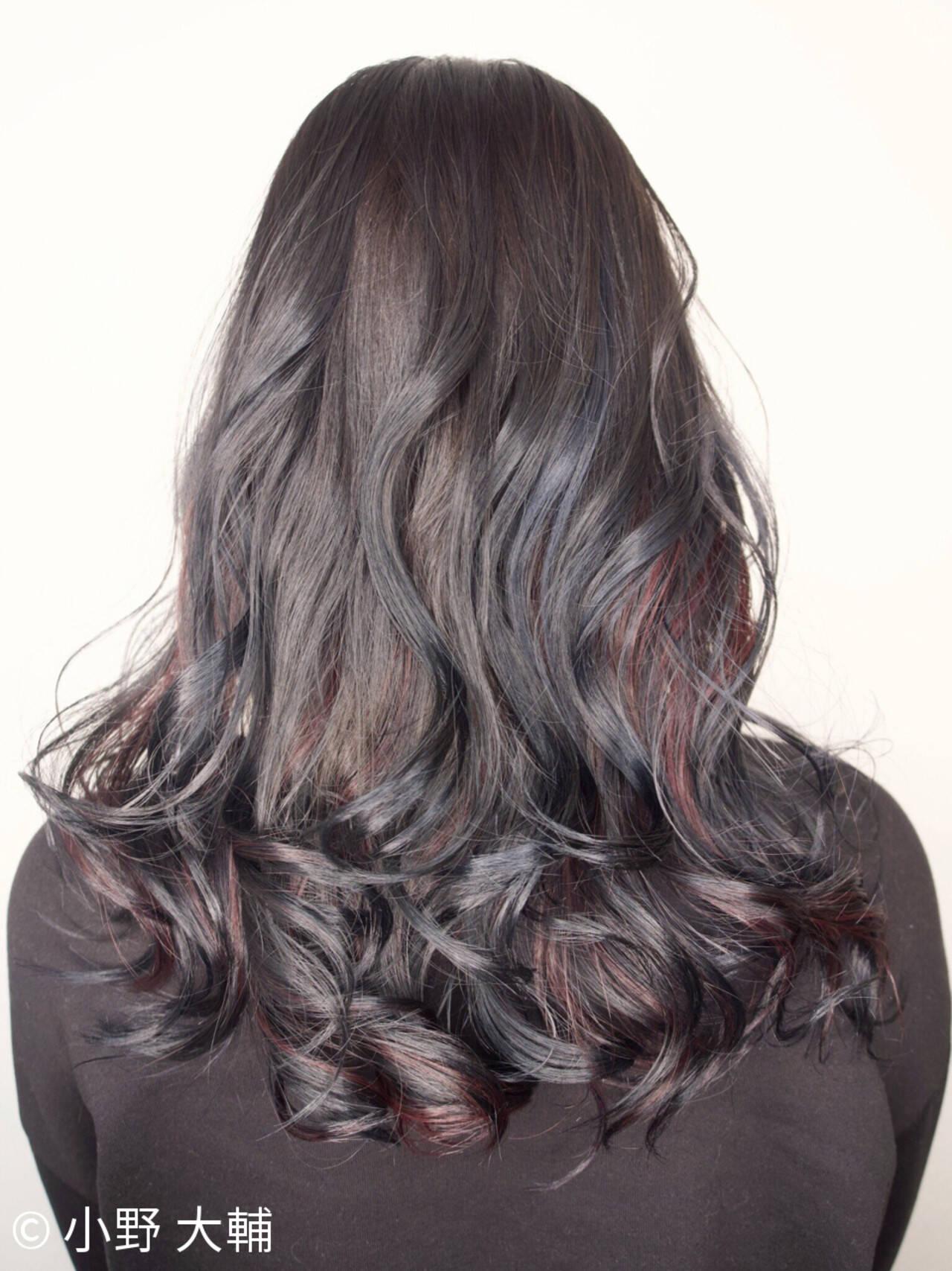 ピンク ナチュラル ミディアム 外国人風カラーヘアスタイルや髪型の写真・画像