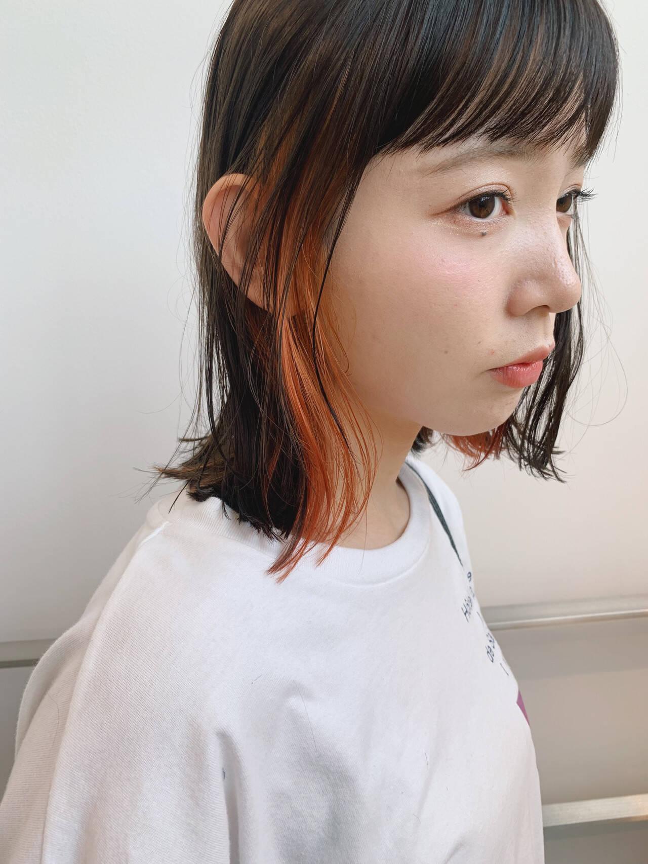 ショートボブ ボブ ミニボブ ナチュラルヘアスタイルや髪型の写真・画像