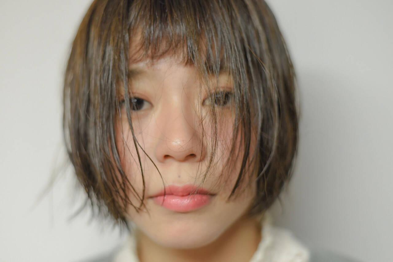 ショート ゆるふわ デート スポーツヘアスタイルや髪型の写真・画像