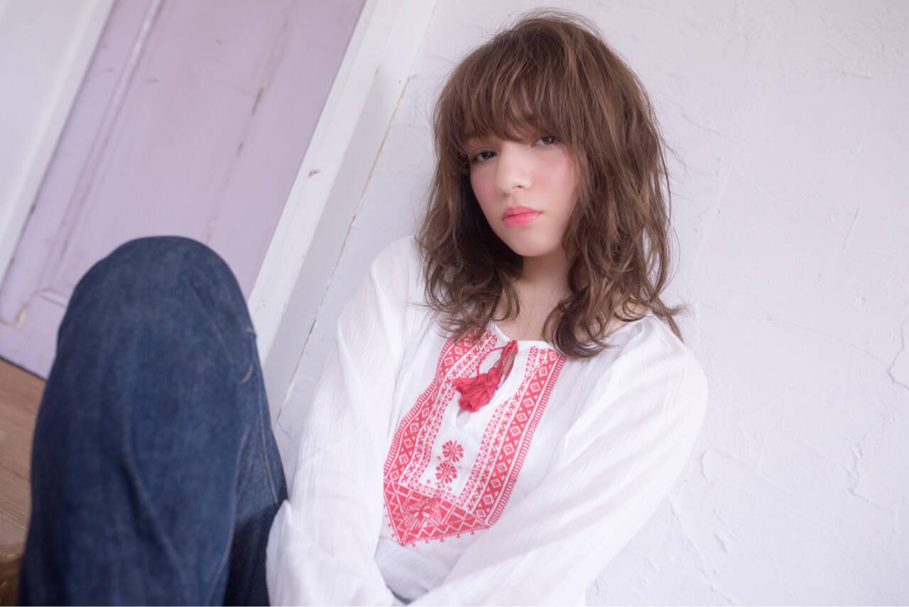 ガーリー ヘアアレンジ 外国人風 大人かわいいヘアスタイルや髪型の写真・画像