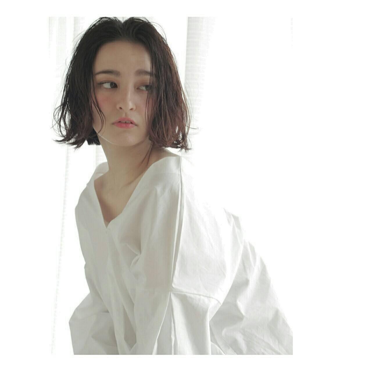 外国人風 こなれ感 ナチュラル 大人女子ヘアスタイルや髪型の写真・画像
