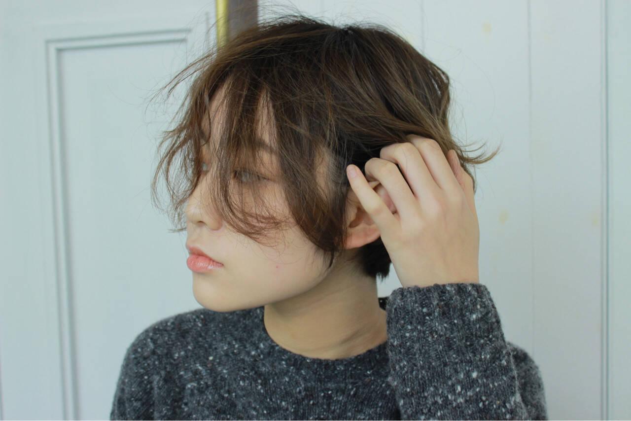 こなれ感 パーマ ニュアンス 大人女子ヘアスタイルや髪型の写真・画像