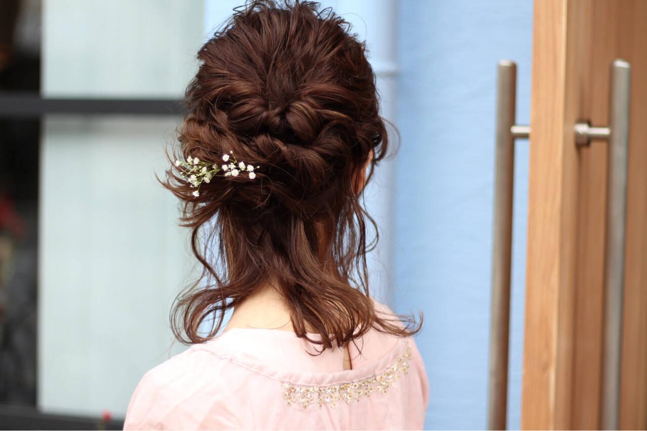 アッシュ 女子会 簡単ヘアアレンジ ショートヘアスタイルや髪型の写真・画像