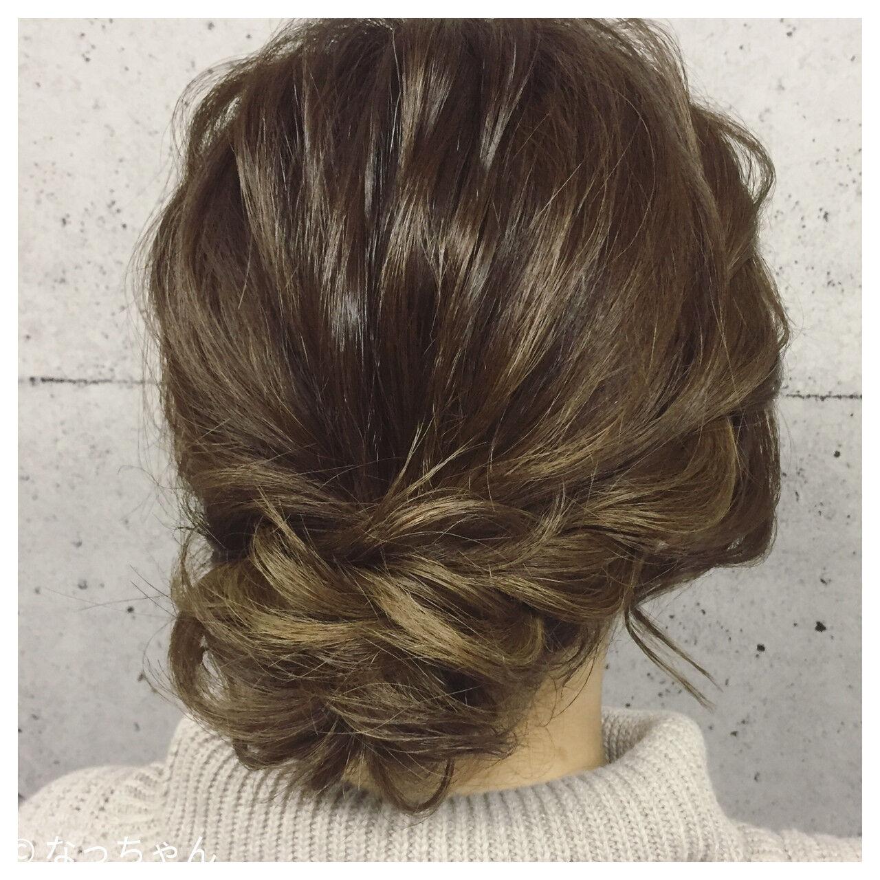 ボブ ヘアアレンジ 結婚式 アップスタイルヘアスタイルや髪型の写真・画像