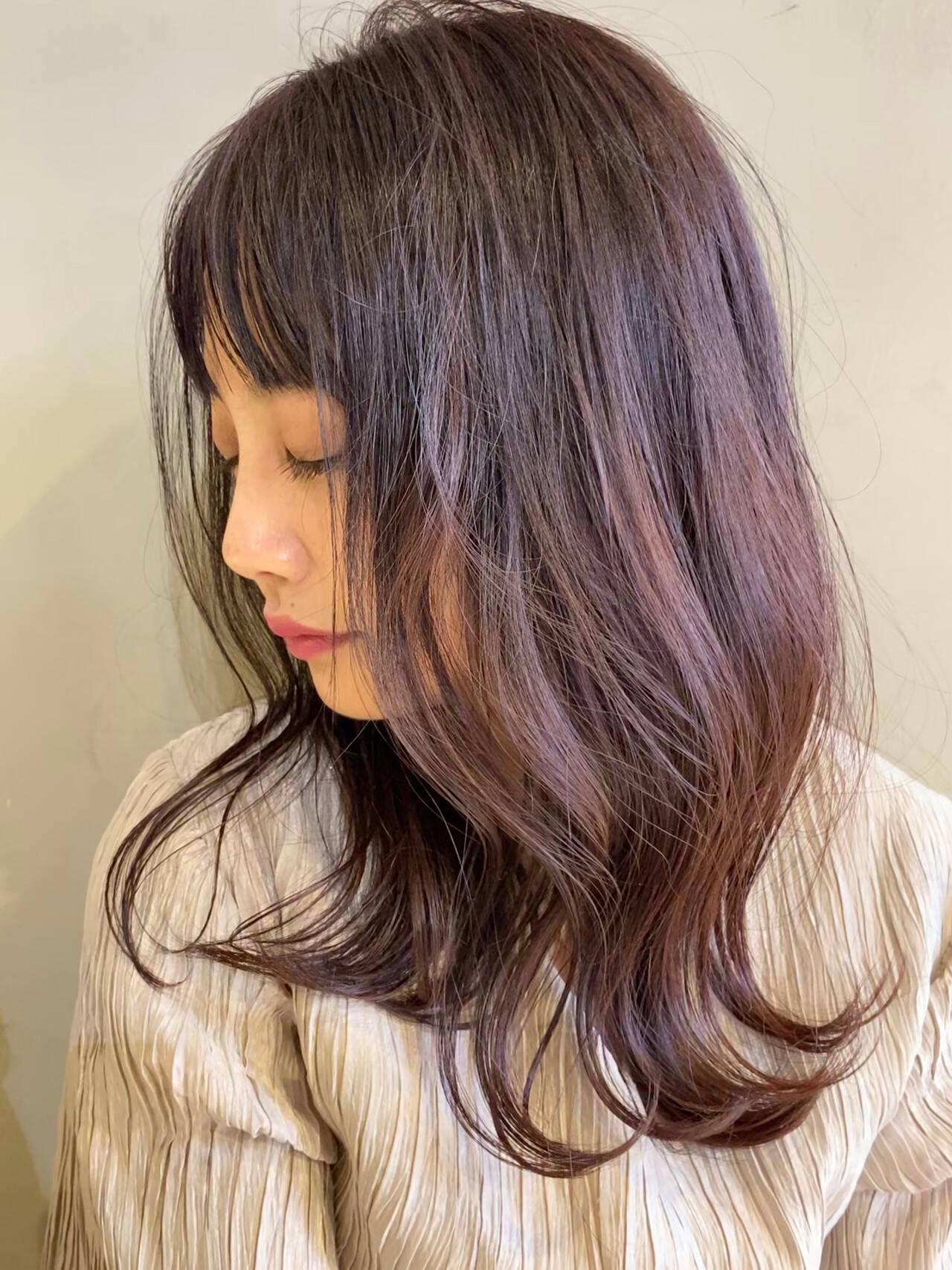 oggiotto ミディアム 大人可愛い ナチュラルヘアスタイルや髪型の写真・画像