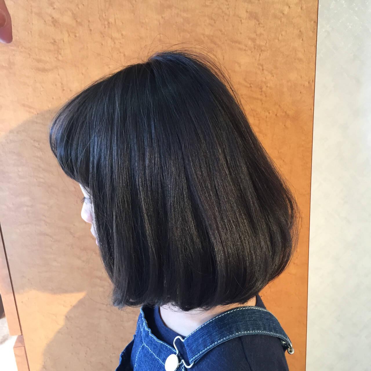 ガーリー ふわふわ ボブ ワンカールヘアスタイルや髪型の写真・画像