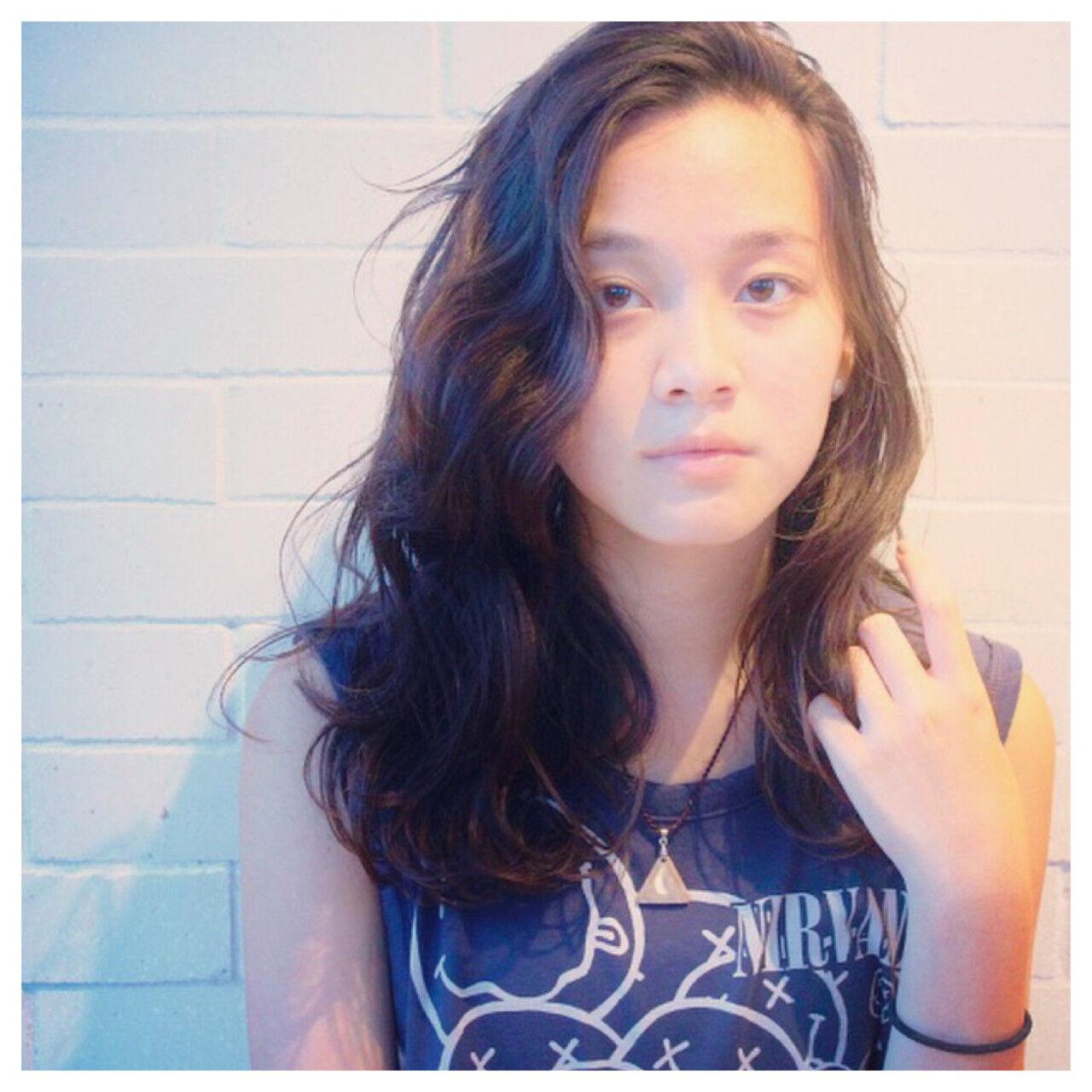 モード かわいい リラックス こなれ感ヘアスタイルや髪型の写真・画像