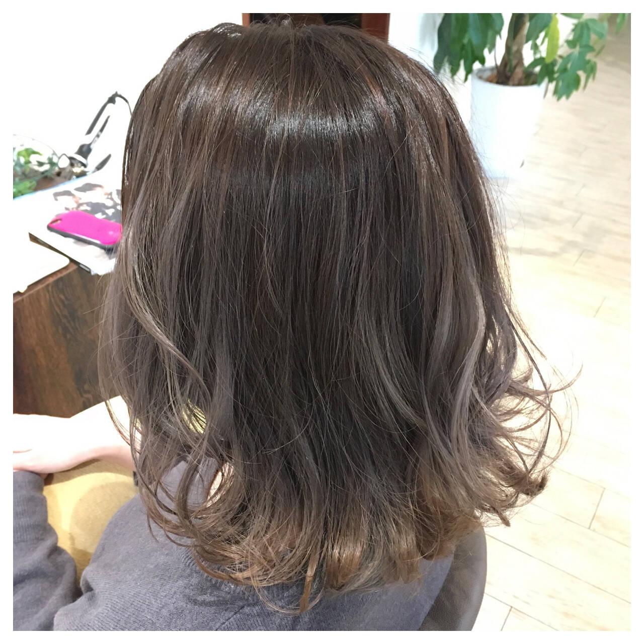 ニュアンス 大人女子 ストリート こなれ感ヘアスタイルや髪型の写真・画像