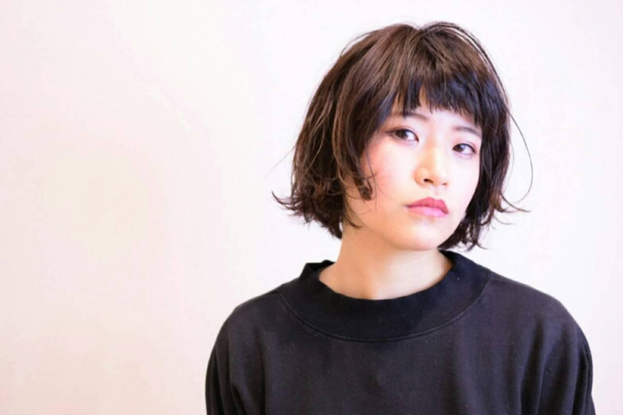ボブ ナチュラル 大人女子 タンバルモリヘアスタイルや髪型の写真・画像