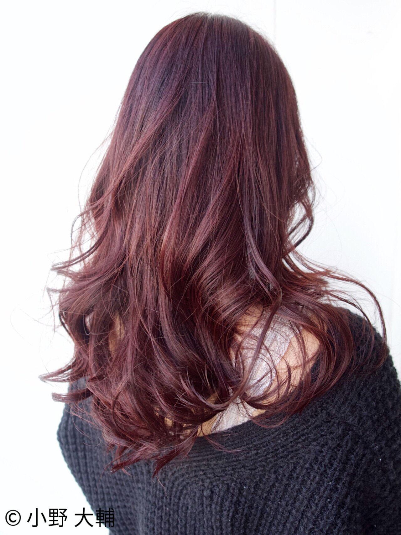 ベージュ ピンクアッシュ 外国人風カラー ロングヘアスタイルや髪型の写真・画像