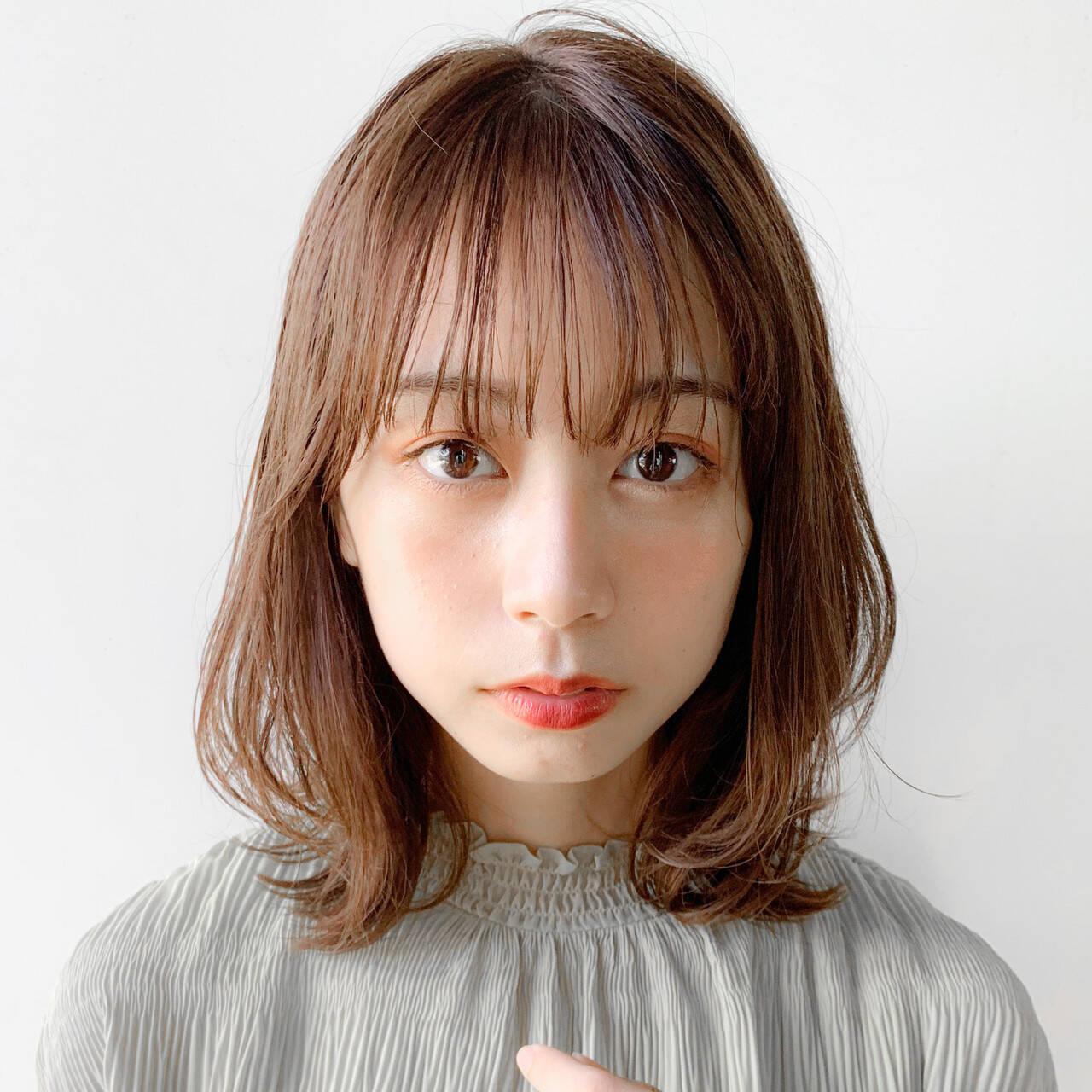 セルフアレンジ ウルフカット デート ミニボブヘアスタイルや髪型の写真・画像
