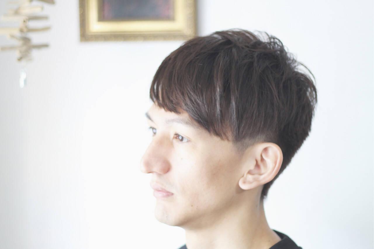 ナチュラル メンズ メンズショート メンズヘアヘアスタイルや髪型の写真・画像