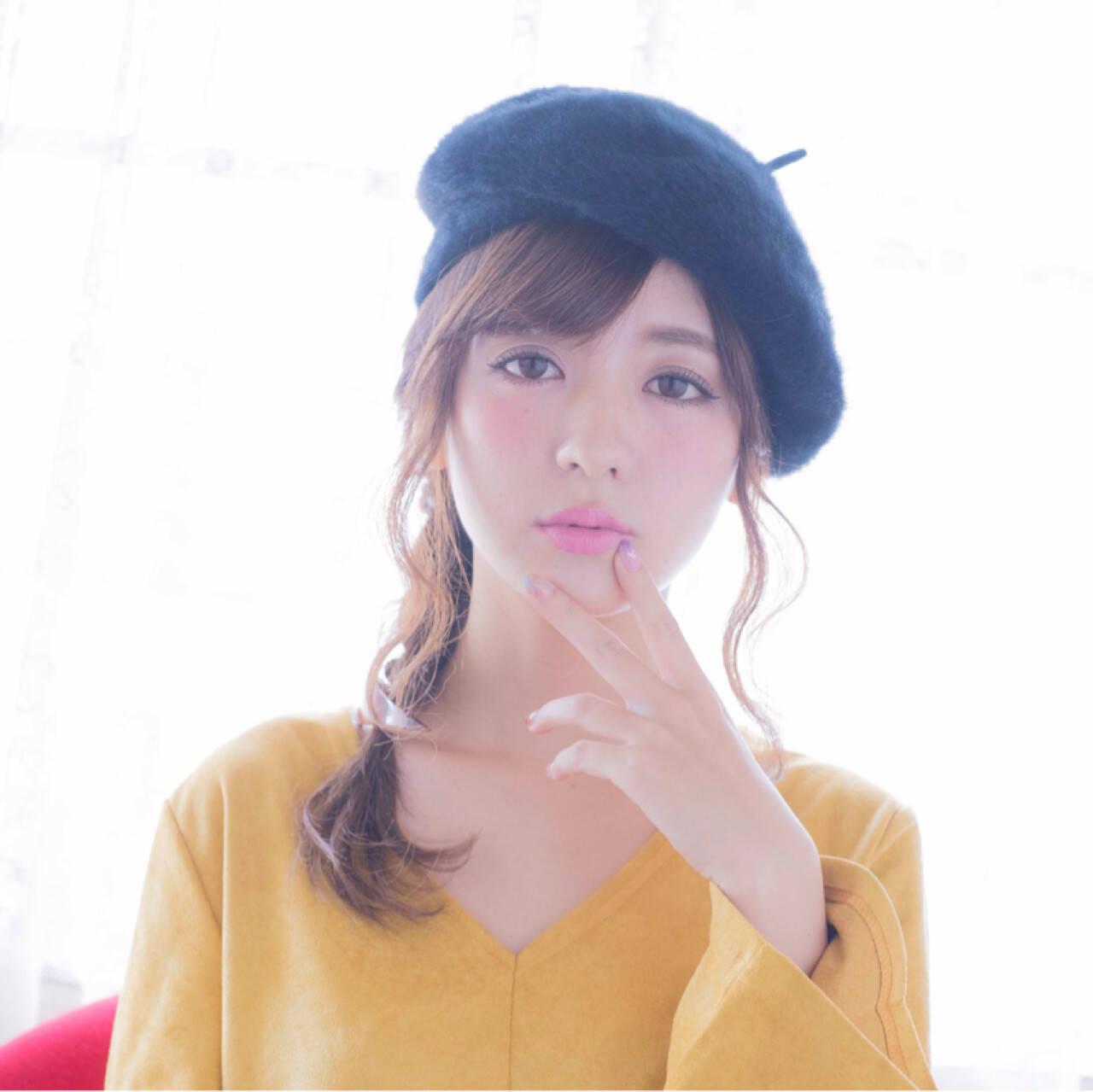 大人かわいい ゆるふわ ヘアアレンジ 簡単ヘアアレンジヘアスタイルや髪型の写真・画像