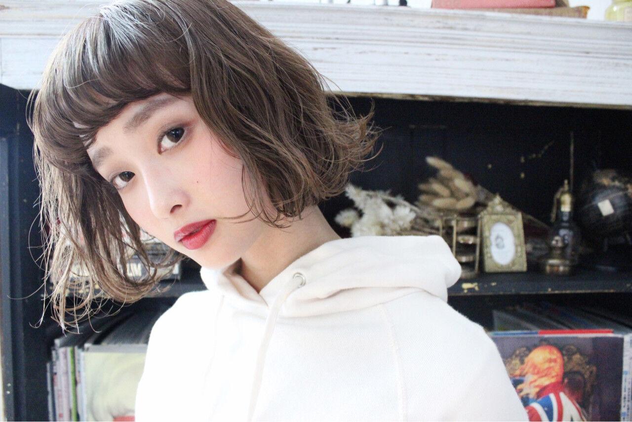 外ハネ こなれ感 外国人風 大人かわいいヘアスタイルや髪型の写真・画像