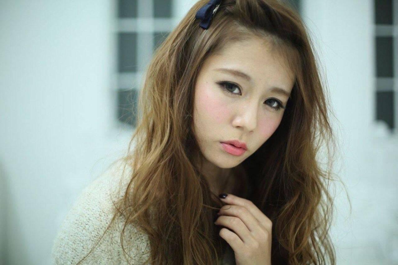 ショート モテ髪 簡単ヘアアレンジ ヘアアレンジヘアスタイルや髪型の写真・画像