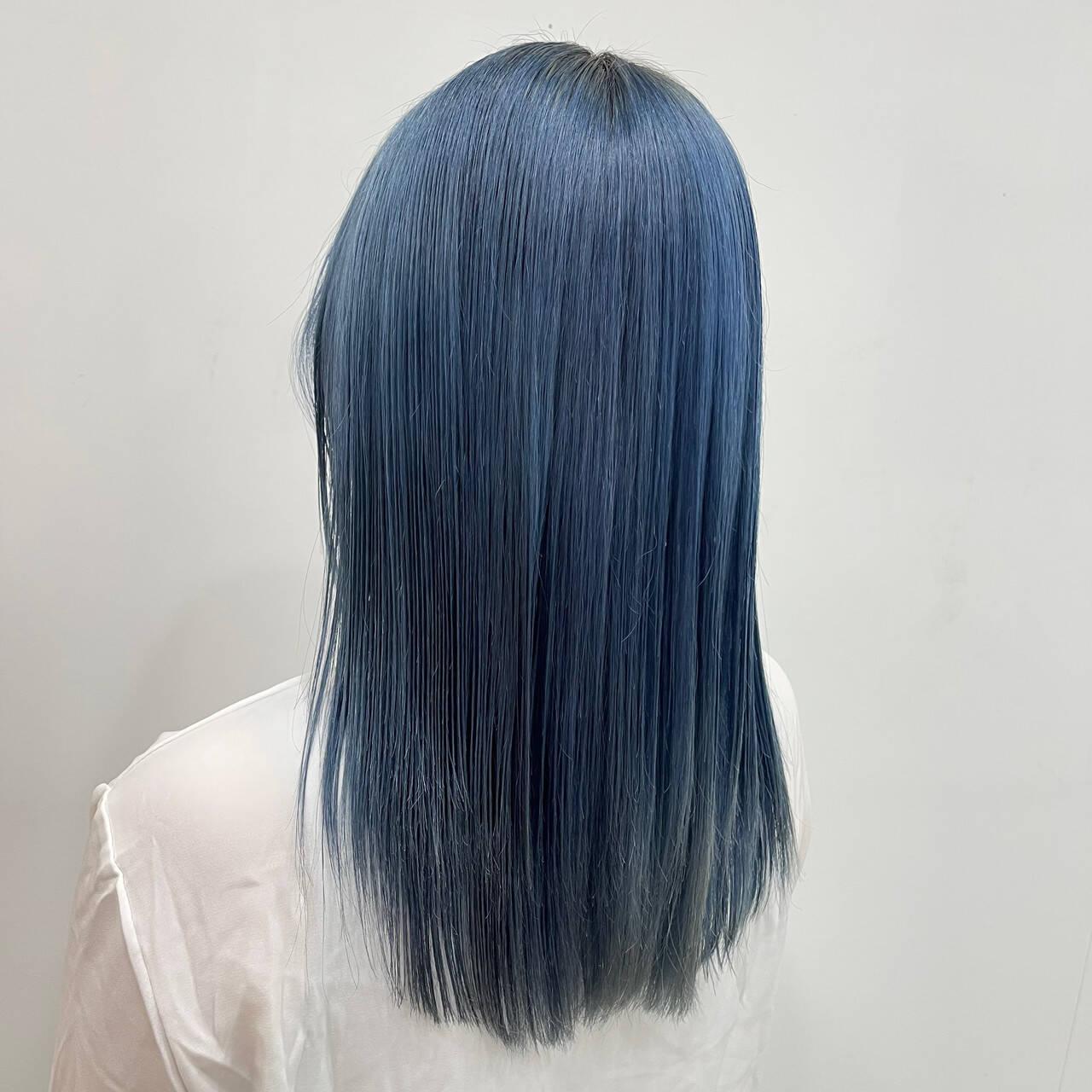ストリート 韓国 ハイトーン ブリーチヘアスタイルや髪型の写真・画像