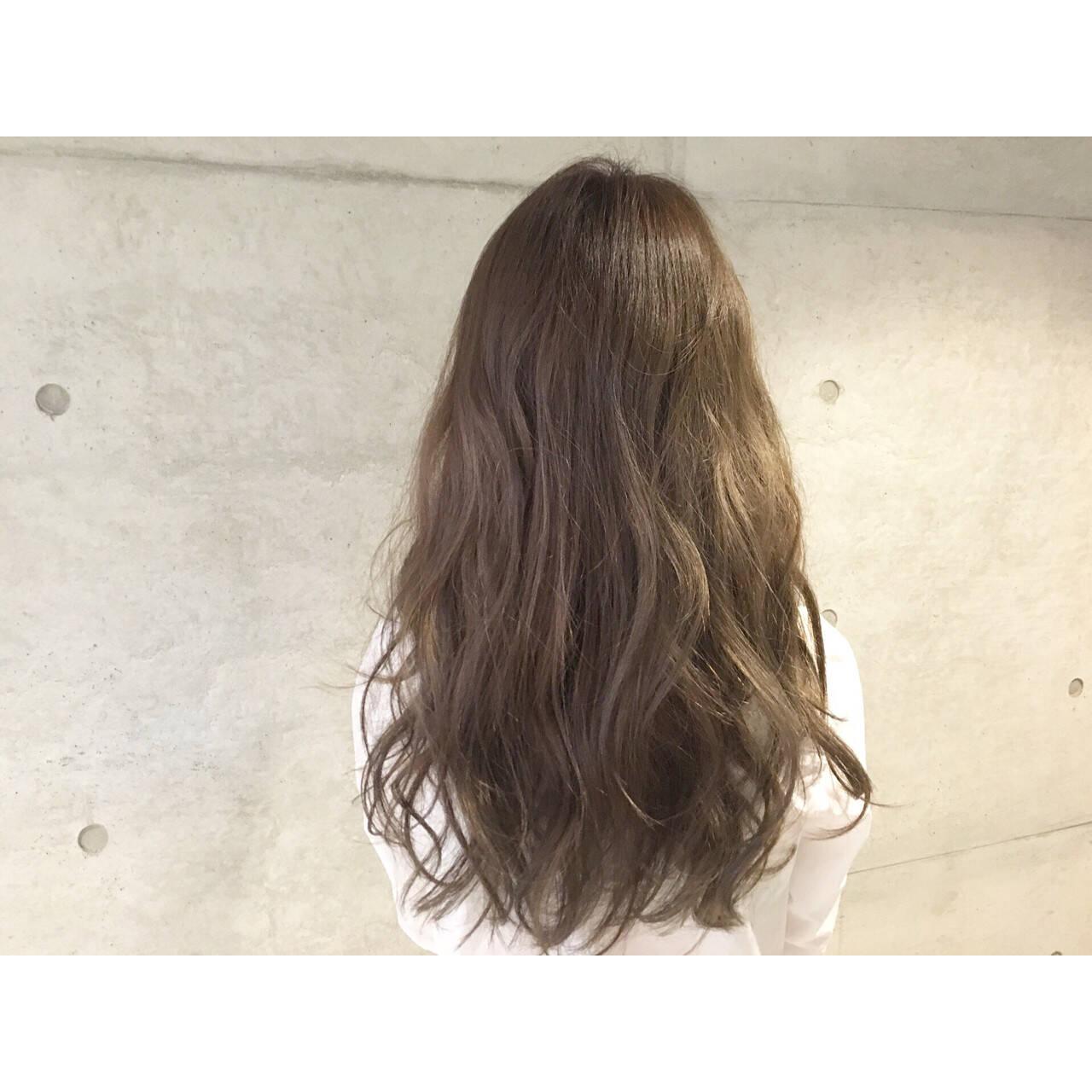 大人かわいい 外国人風 ナチュラル ロングヘアスタイルや髪型の写真・画像