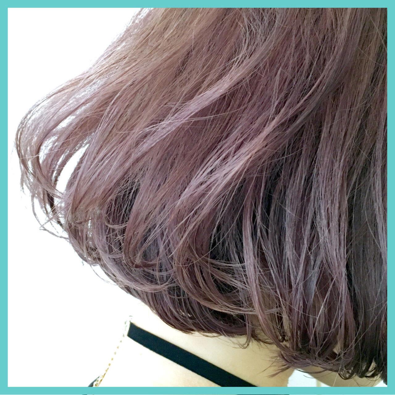 グラデーションカラー ゆるふわ 暗髪 フェミニンヘアスタイルや髪型の写真・画像