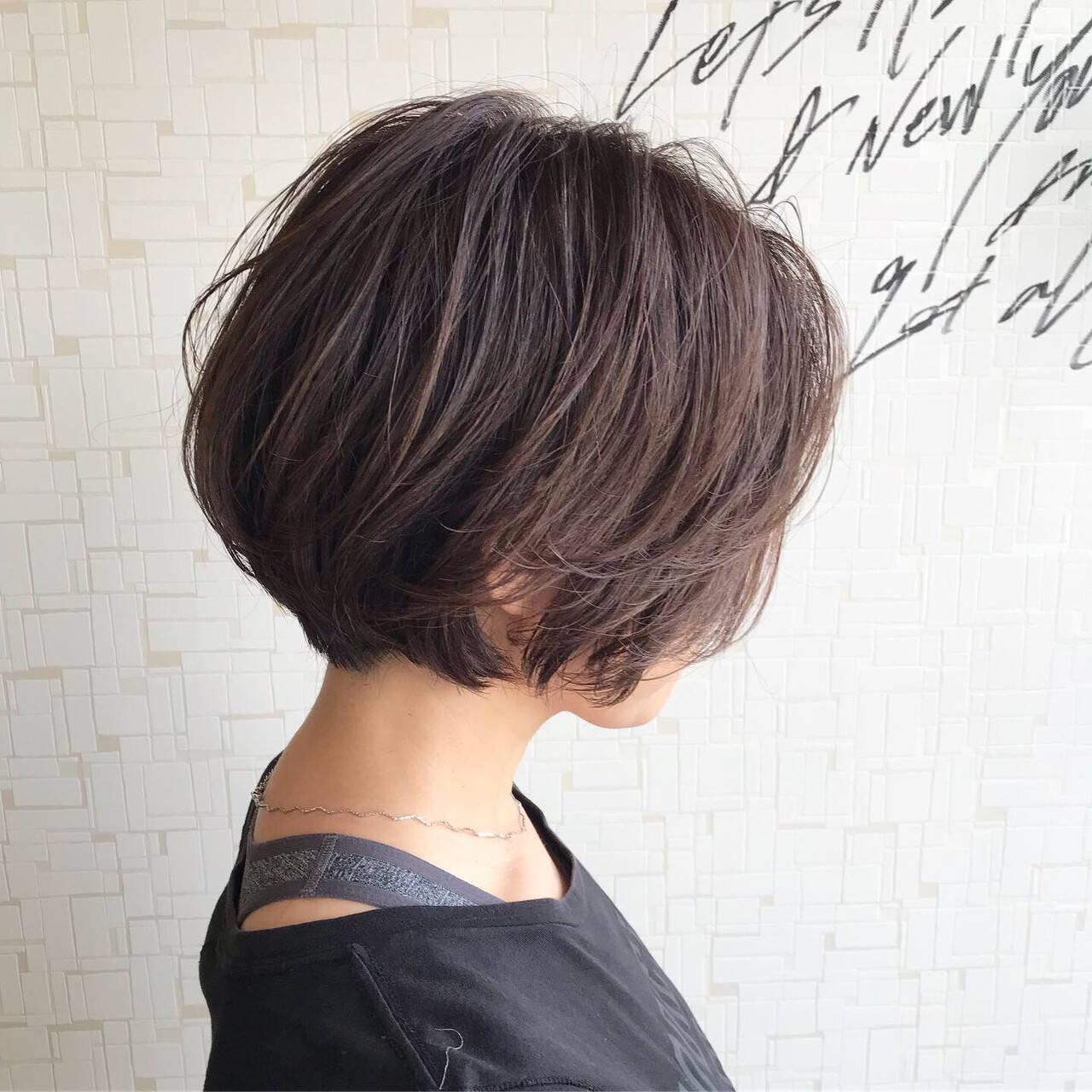 無造作 ラフ ボブ かっこいいヘアスタイルや髪型の写真・画像