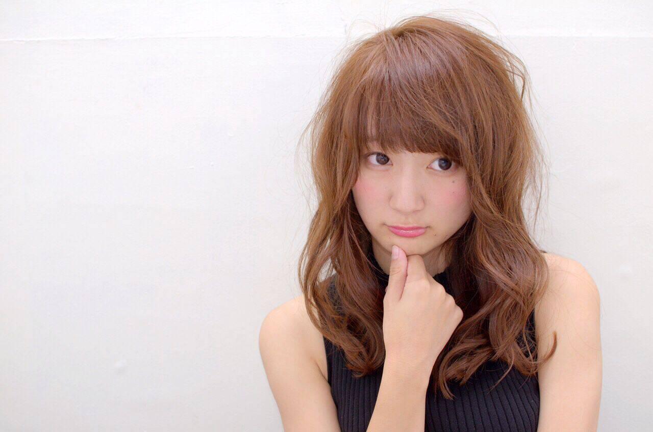 ヘアアレンジ モテ髪 ストリート ナチュラルヘアスタイルや髪型の写真・画像