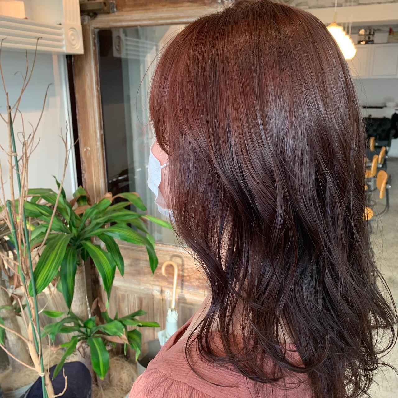 ナチュラル セミロング 透明感カラー 大人可愛いヘアスタイルや髪型の写真・画像