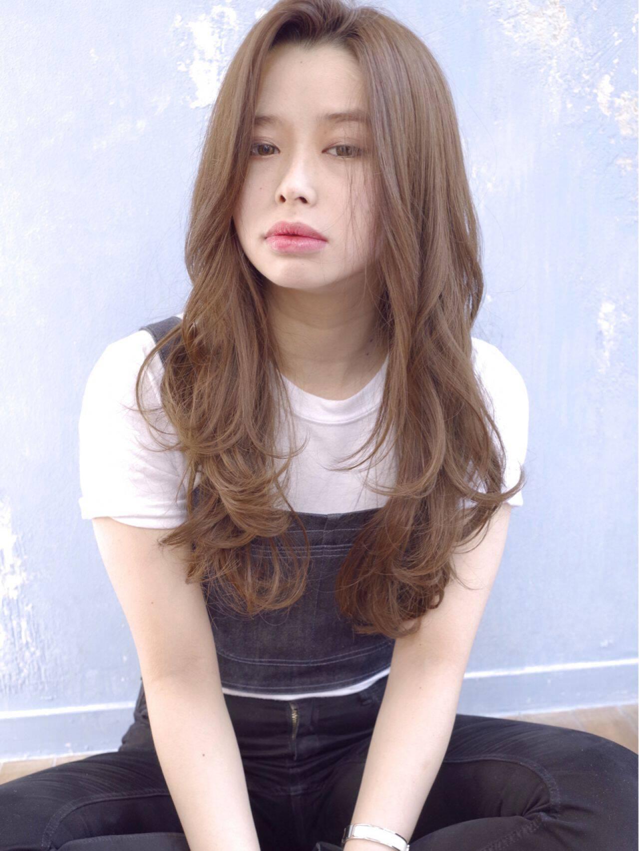 モテ髪 コンサバ フェミニン ゆるふわヘアスタイルや髪型の写真・画像