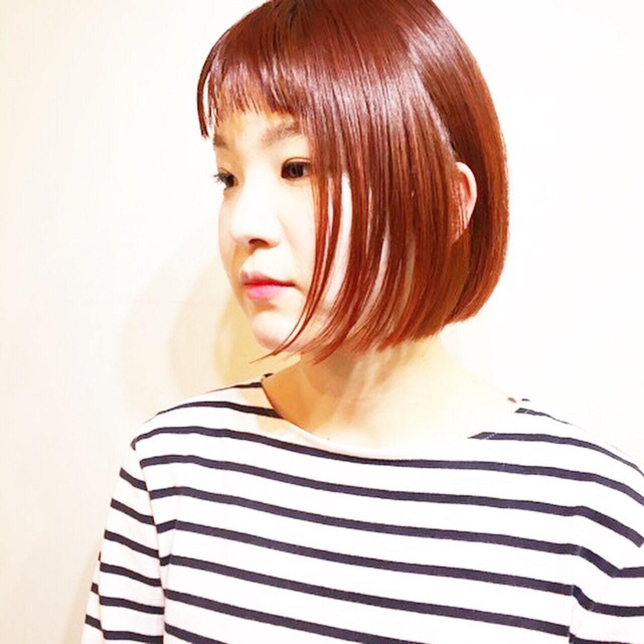 ニュアンス 小顔 マッシュ ストリートヘアスタイルや髪型の写真・画像