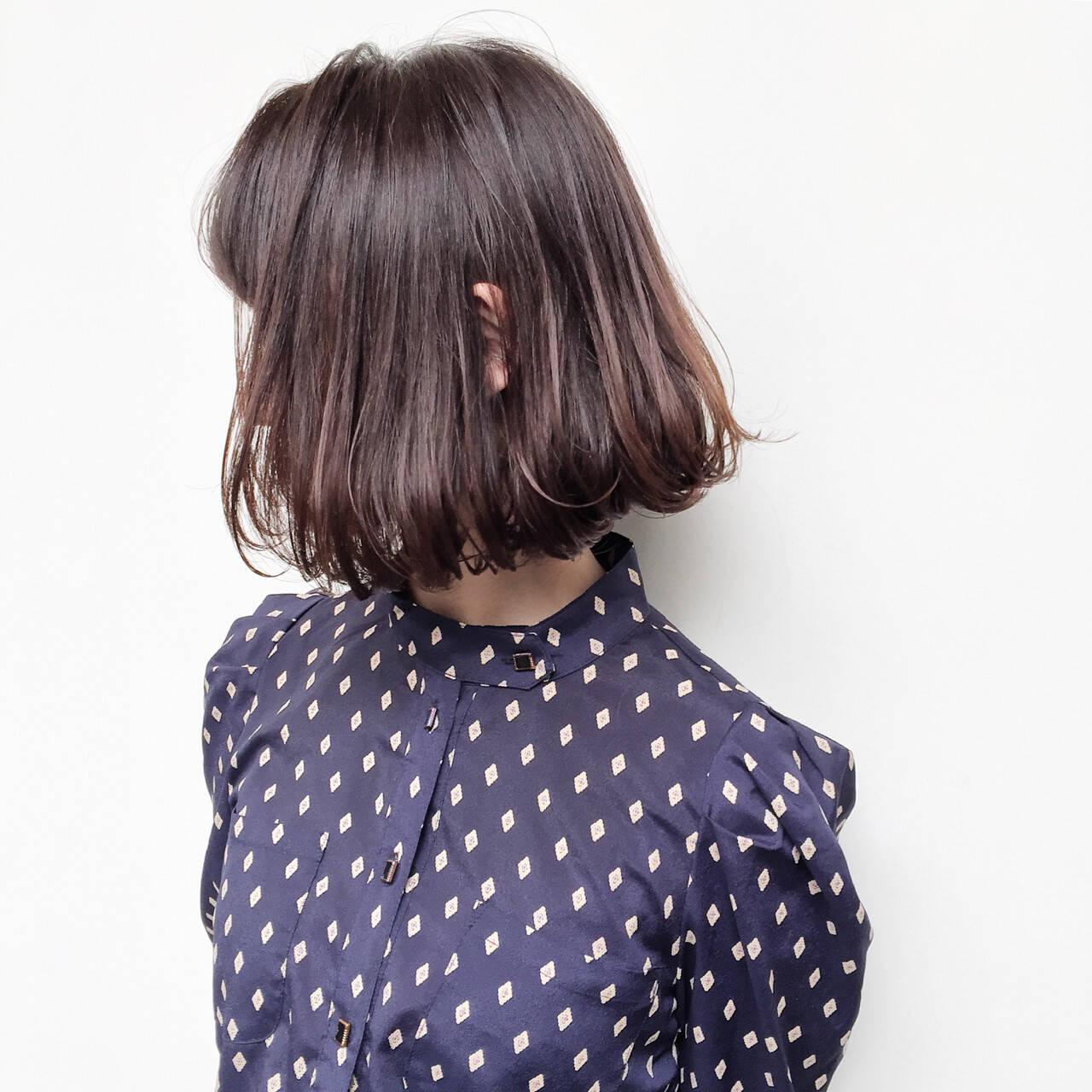 暗髪 ストリート ハイライト 外国人風ヘアスタイルや髪型の写真・画像