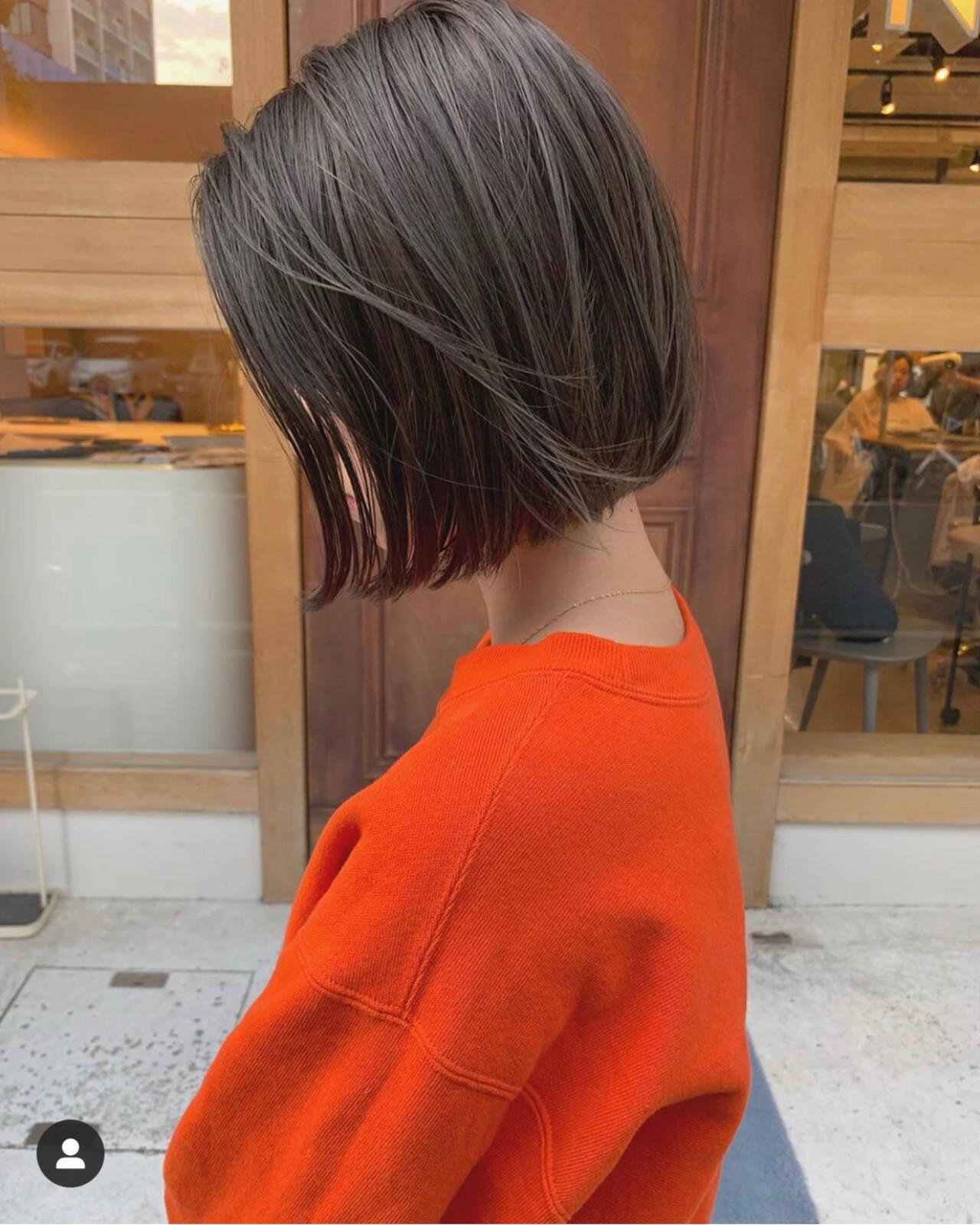 ボブ ショートボブ ショートヘア ベリーショートヘアスタイルや髪型の写真・画像