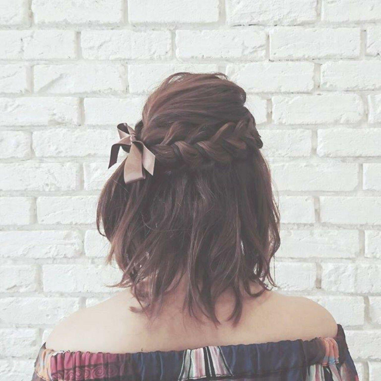 大人かわいい 冬 デート ヘアアレンジヘアスタイルや髪型の写真・画像