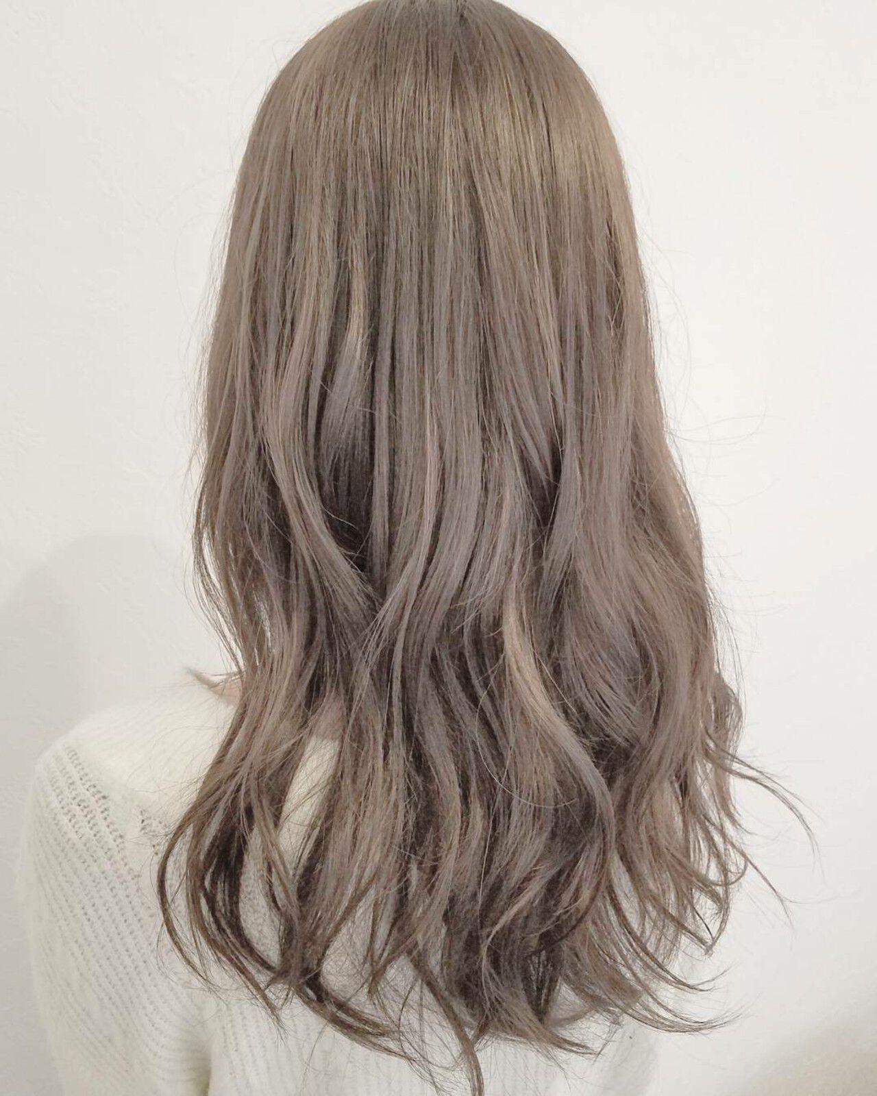 ロング 大人かわいい 外国人風 ハイライトヘアスタイルや髪型の写真・画像