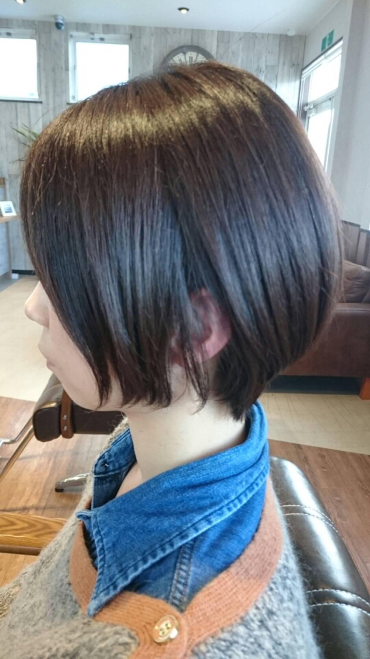 こなれ感 ショート マッシュ 大人かわいいヘアスタイルや髪型の写真・画像