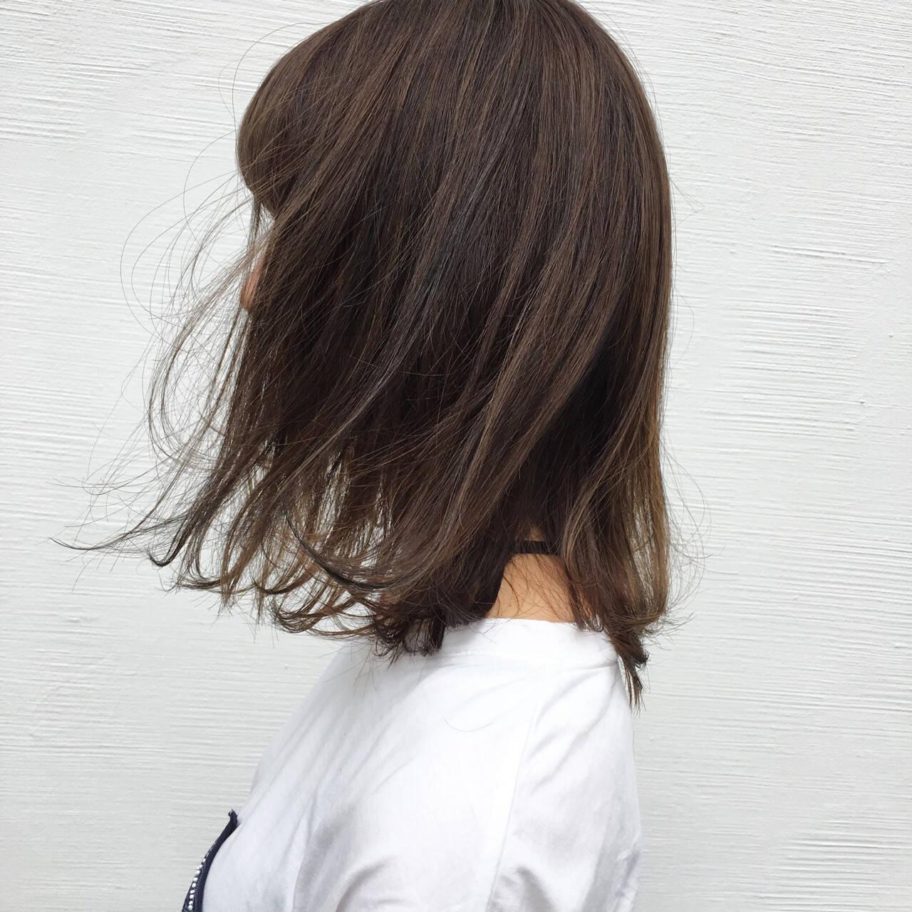イルミナカラー 外国人風 ハイライト ストリートヘアスタイルや髪型の写真・画像
