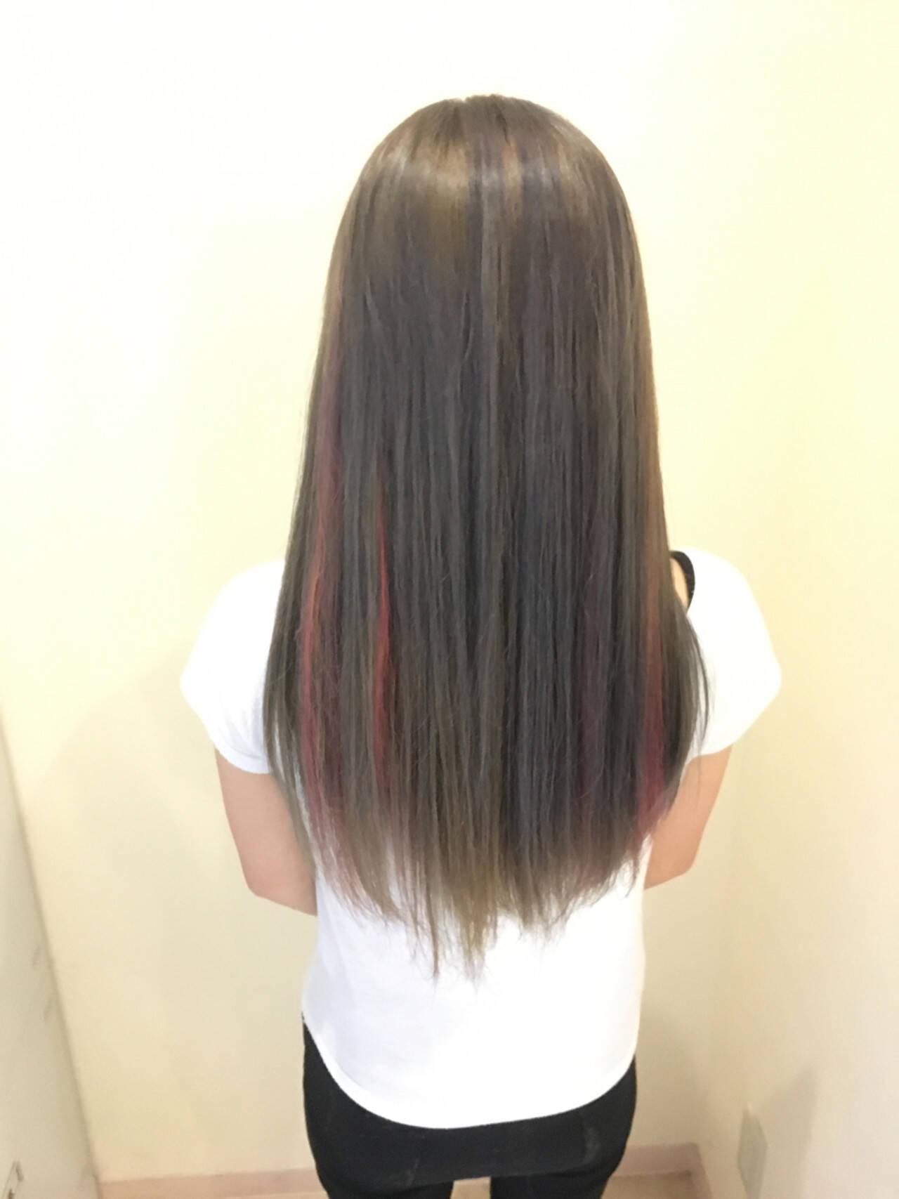 フェミニン ロング 透明感 モテ髪ヘアスタイルや髪型の写真・画像
