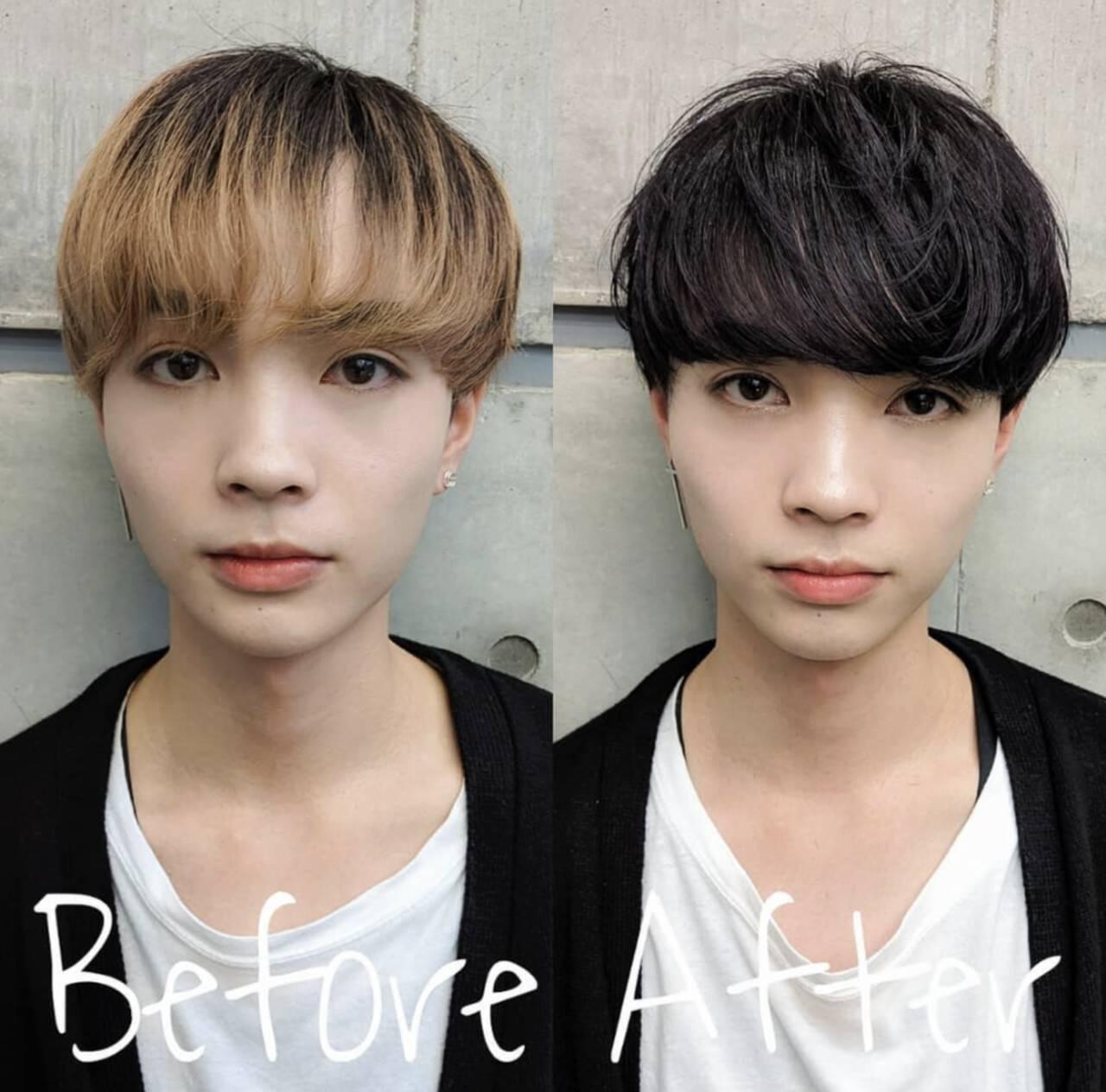 メンズマッシュ 刈り上げ メンズショート メンズスタイルヘアスタイルや髪型の写真・画像