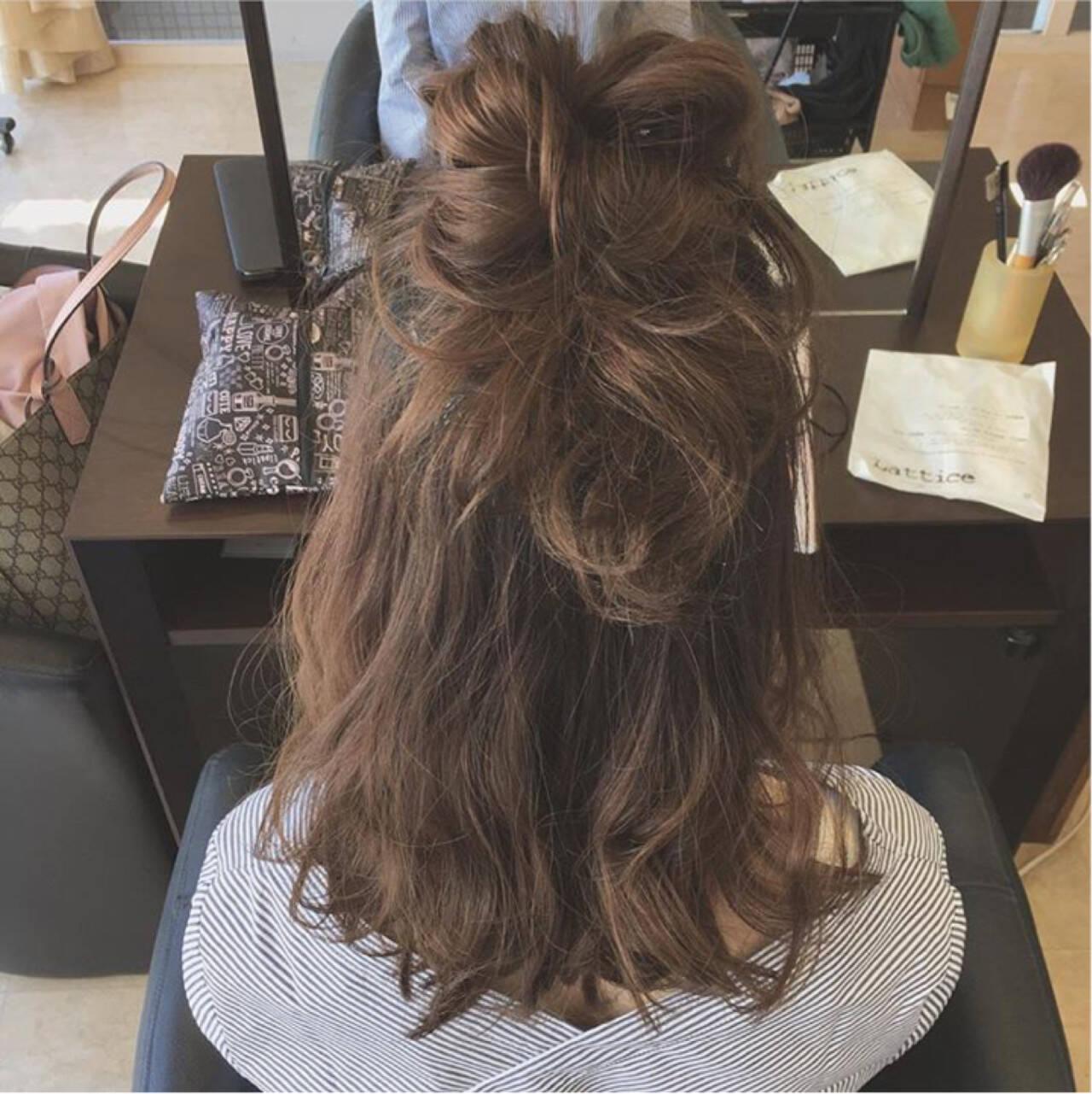 ミディアム ボブ ガーリー ニュアンスヘアスタイルや髪型の写真・画像