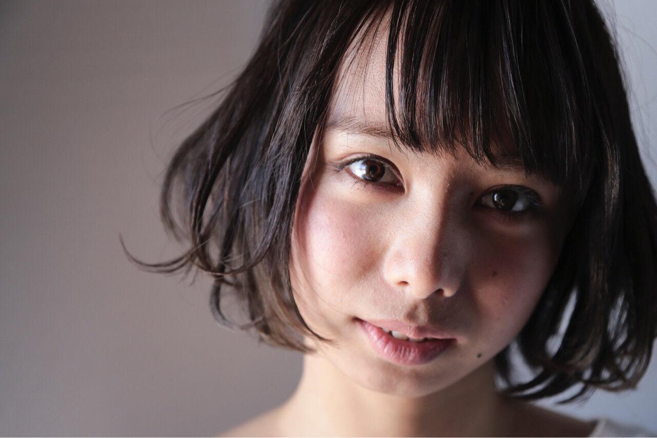 外国人風 ガーリー 暗髪 大人かわいいヘアスタイルや髪型の写真・画像