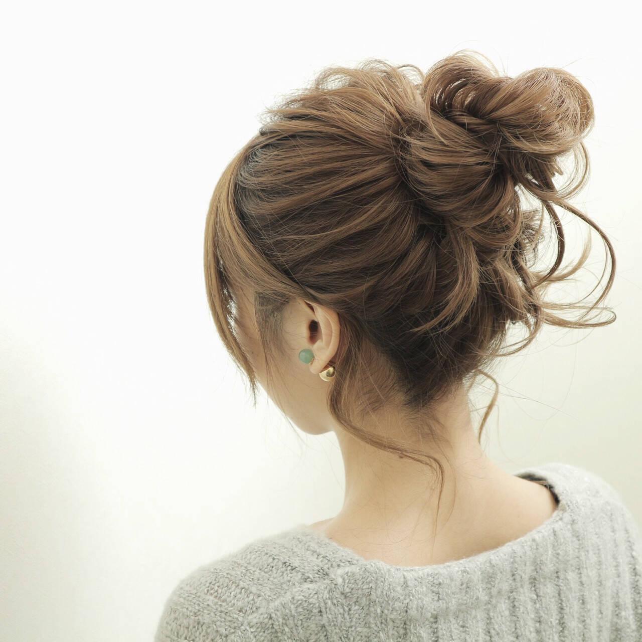 セミロング 外国人風 大人女子 ショートヘアスタイルや髪型の写真・画像