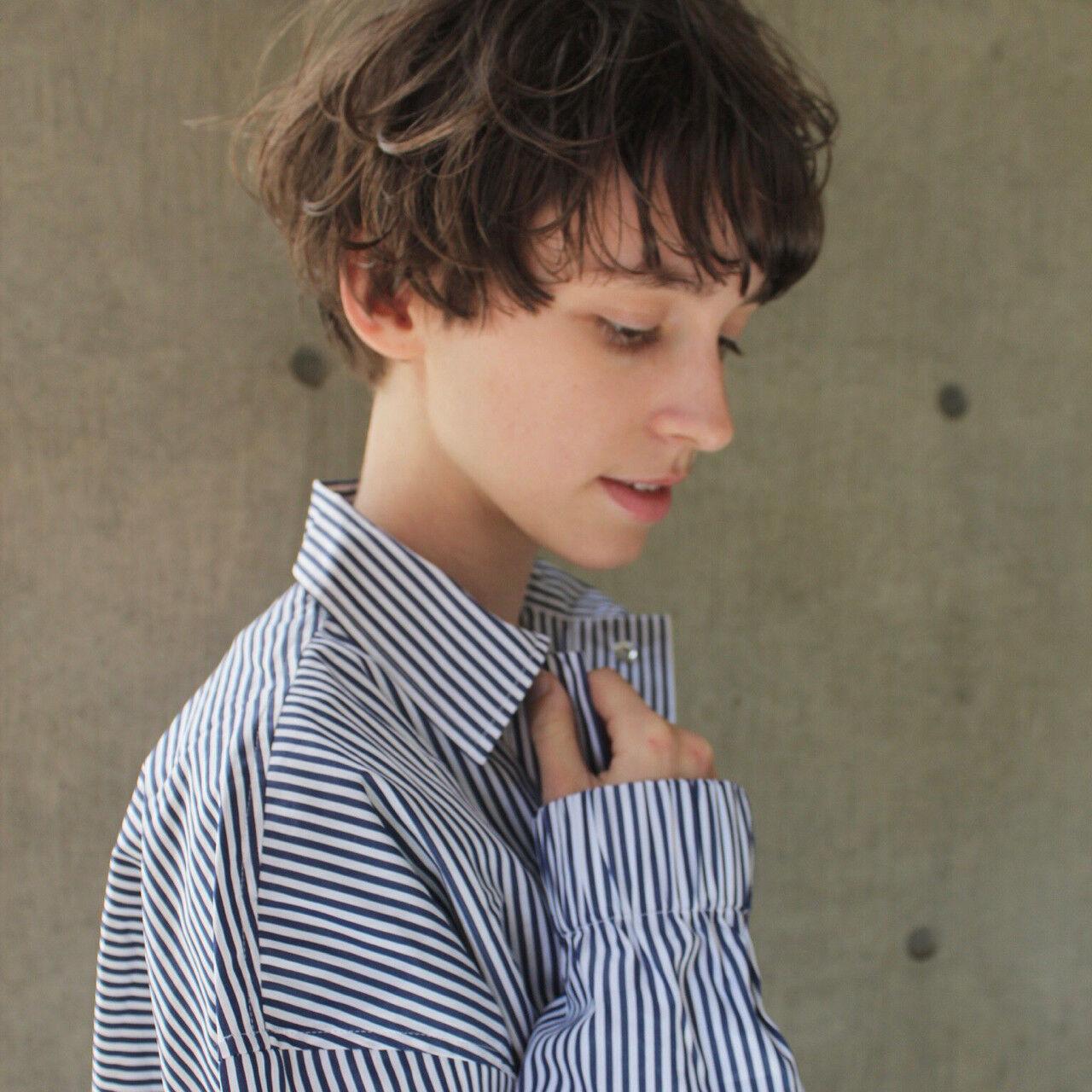 ウェーブ ショート パーマ モードヘアスタイルや髪型の写真・画像