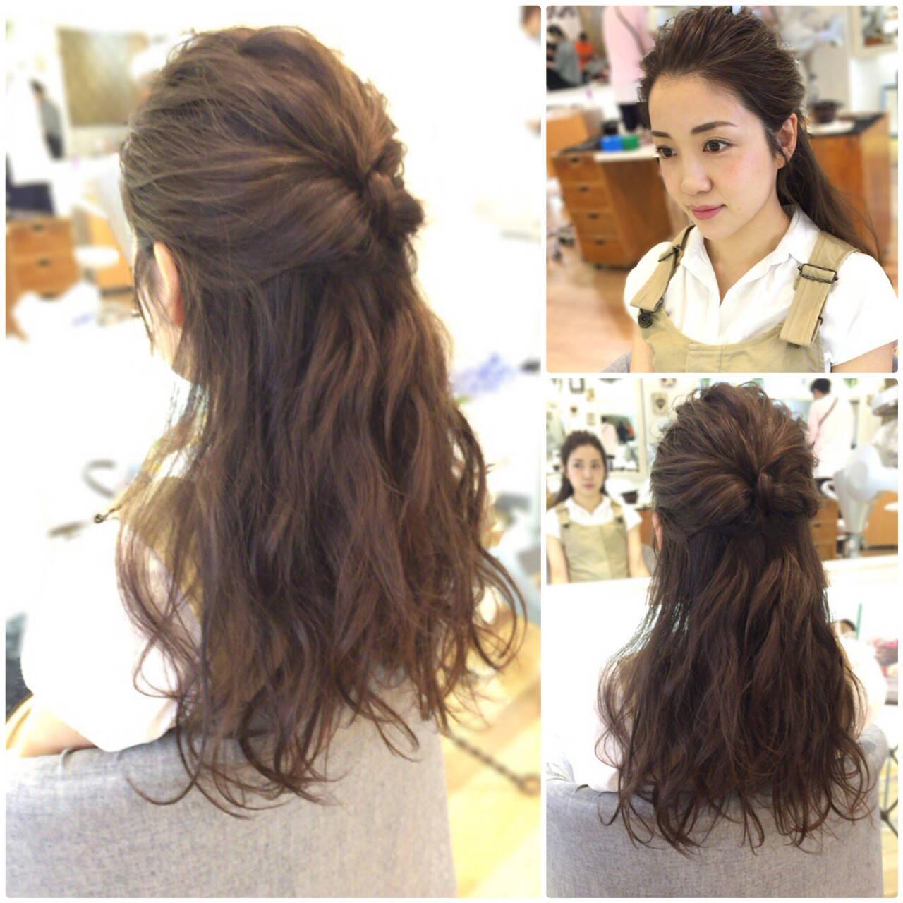 アップスタイル ヘアアレンジ フェミニン 結婚式ヘアスタイルや髪型の写真・画像