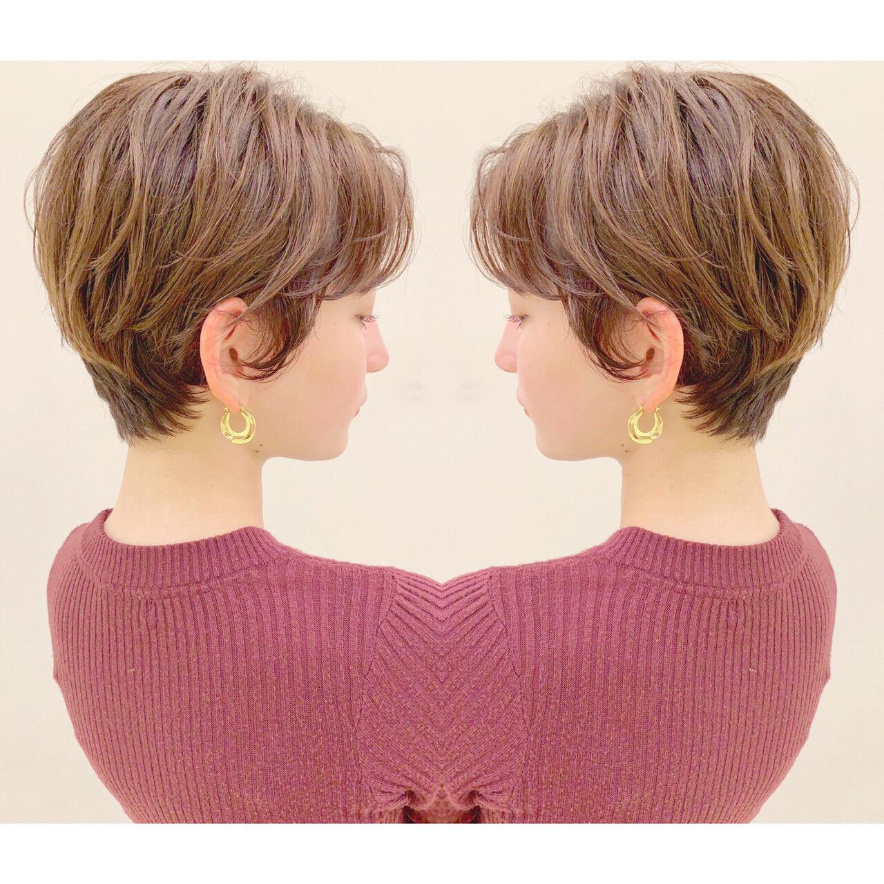 スポーツ ナチュラル デート オフィスヘアスタイルや髪型の写真・画像