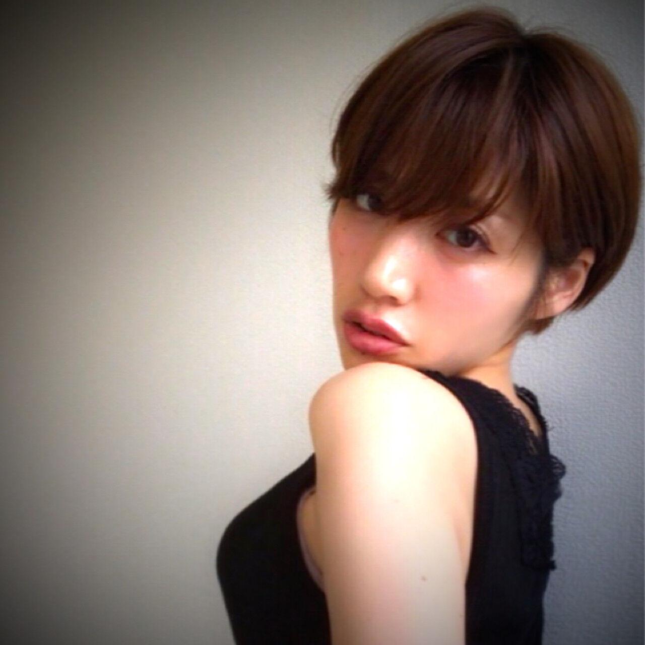 大人女子 モテ髪 小顔 ナチュラルヘアスタイルや髪型の写真・画像