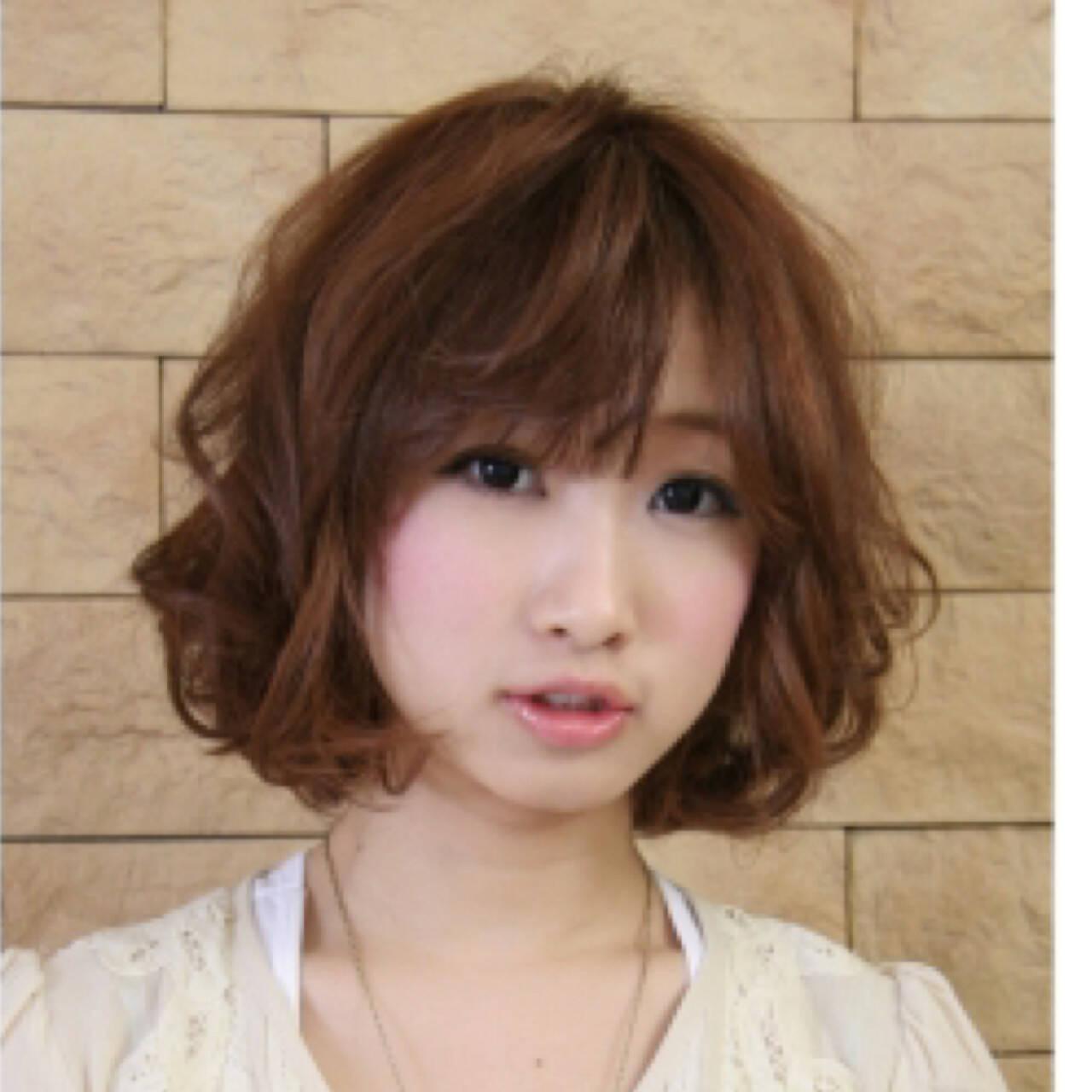 ナチュラル ピュア かわいい ボブヘアスタイルや髪型の写真・画像