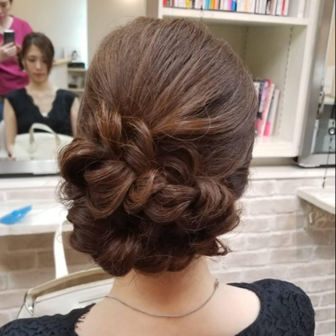 ヘアアレンジ ロング 上品 大人かわいいヘアスタイルや髪型の写真・画像