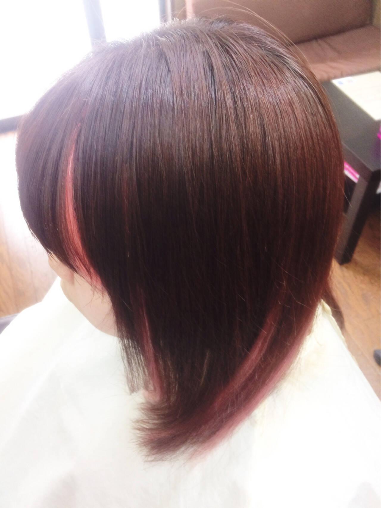 ハイライト ガーリー メッシュ ヘアアレンジヘアスタイルや髪型の写真・画像